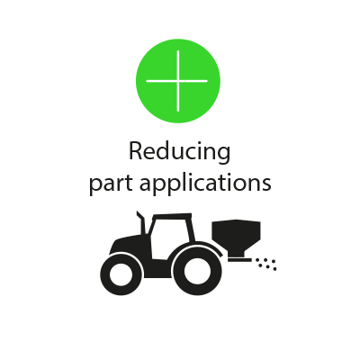 Reducing part applications